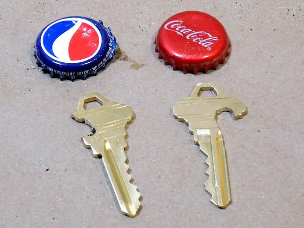 открывачки для пива из ключей