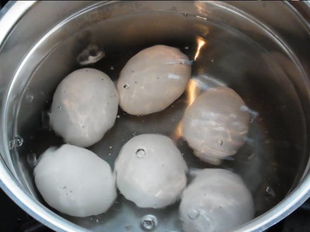 охладите в холодной воде