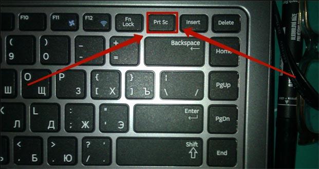 как сделать скриншот на экране ноутбука и компьютера