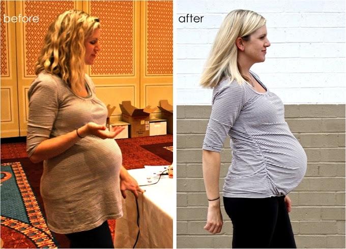 Резинка для футболки под животом для беременных