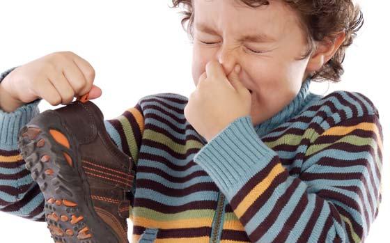 убираем запах с обуви