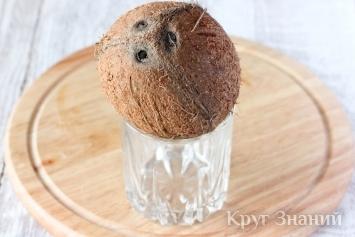 Как расколоть и открыть кокос