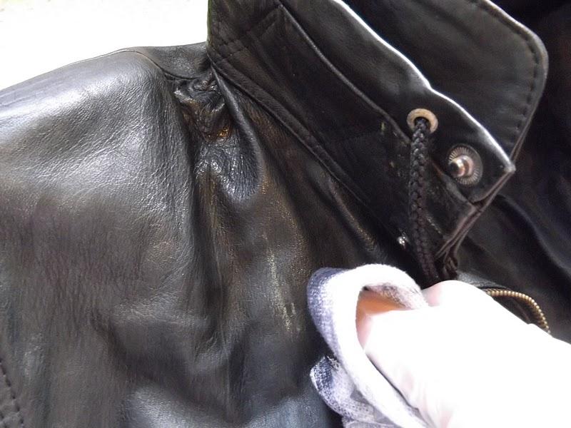 Как почистить кожаную куртку