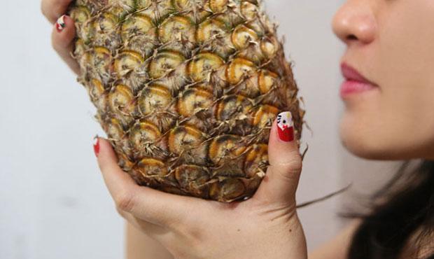 Понюхайте ананас