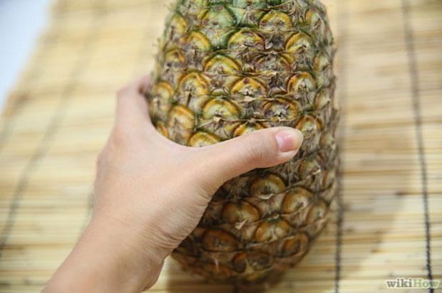 Сожмите ананас