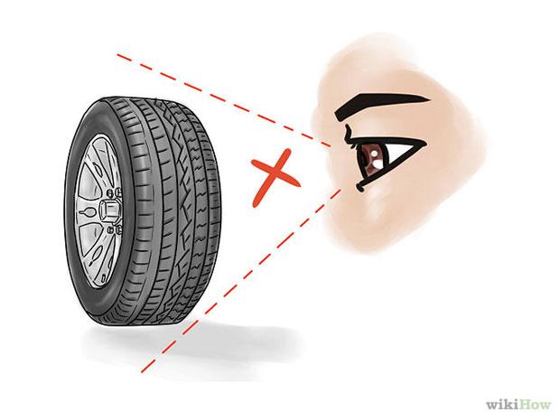 """""""На глаз"""" невозможно определить давление в колесе"""