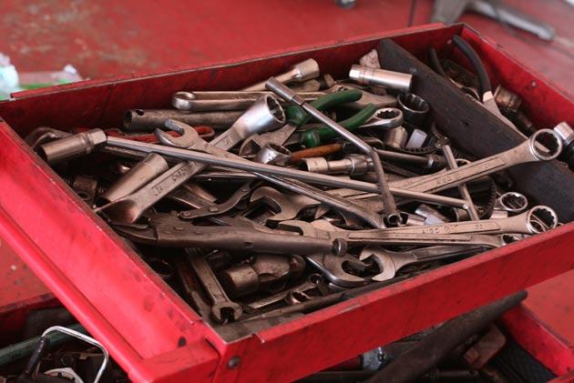 приготовьте все необходимые инструменты