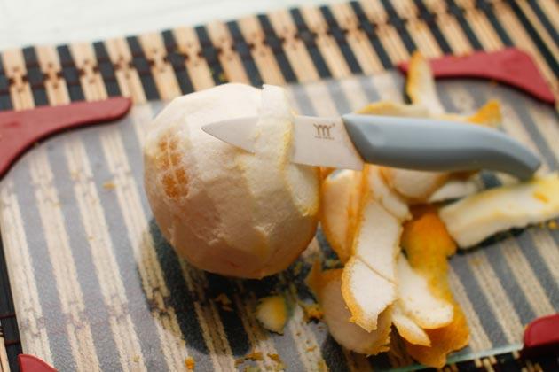 Как снять цедру с лимона и апельсина