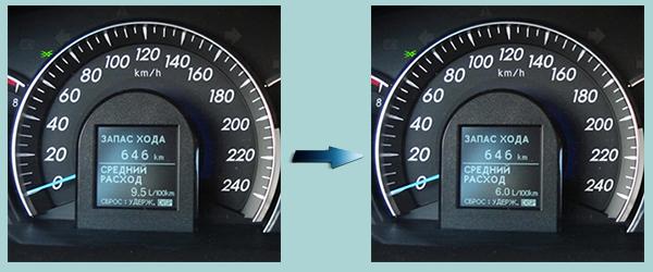 на сколько экономайзер экономит топливо