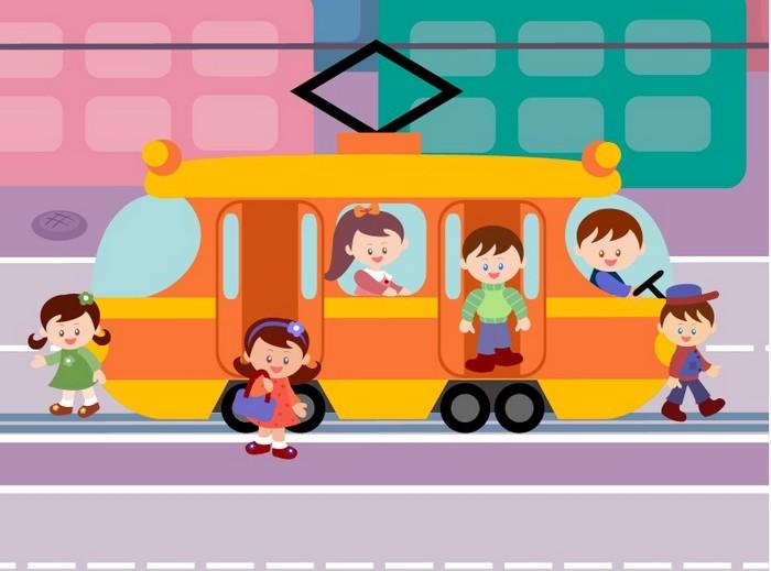 как правильно обходить автобус