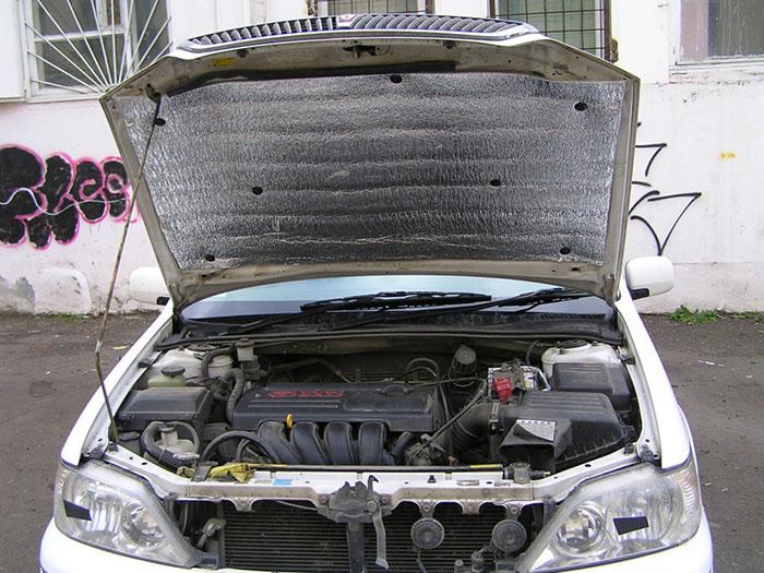 Как утеплить двигатель своими руками