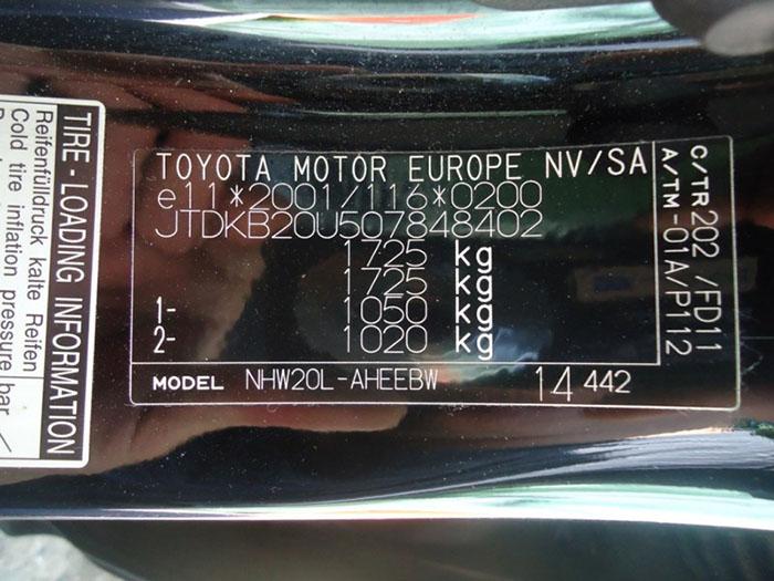 Как узнать номер краски автомобиля