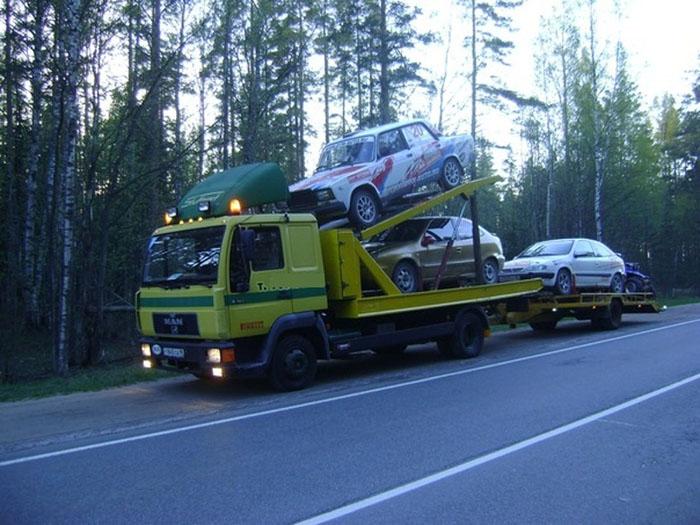 Как перевезти машину. Способы перевозки автомобиля