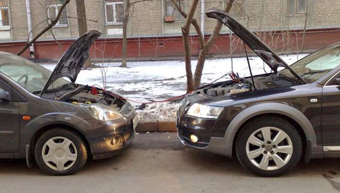 """Как зарядить автомобильный аккумулятор """"без зарядного устройства"""""""