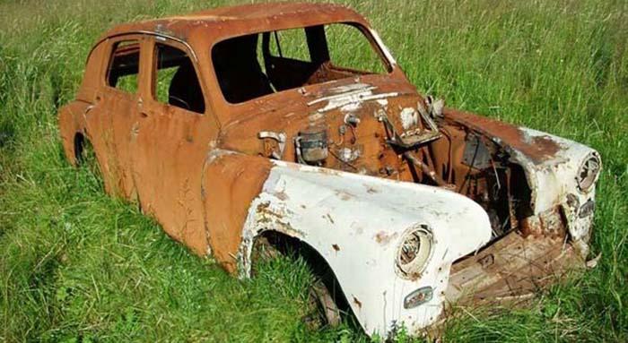 продать утилизированный автомобиль целиком