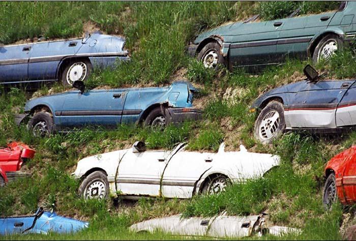 Продажа утилизированного автомобиля