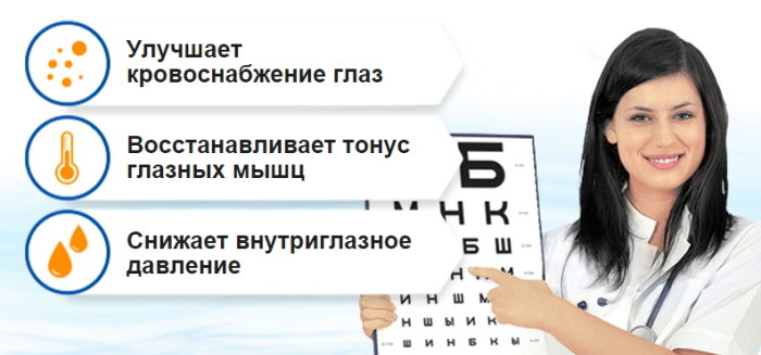Преимущества геля Eyevision