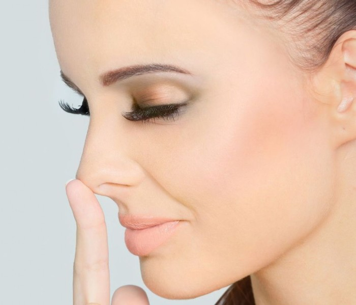 Коррекция формы носа без операции с маслом Organic