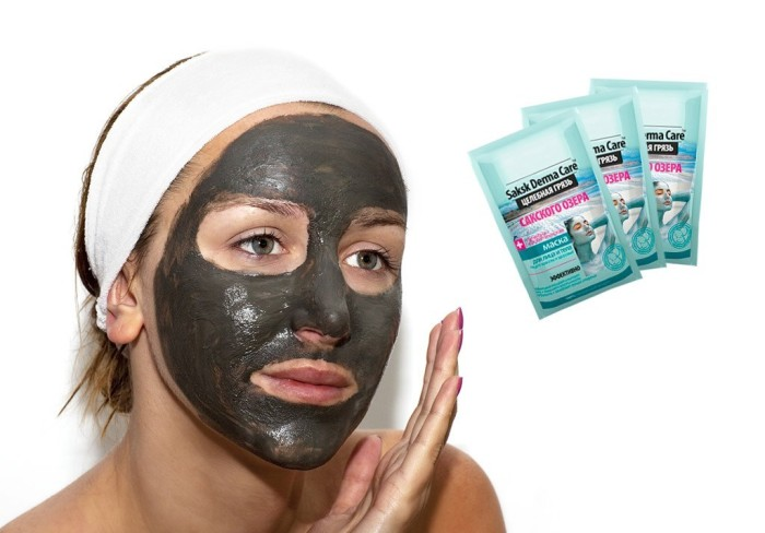 Грязевая маска Saksk Derma Care