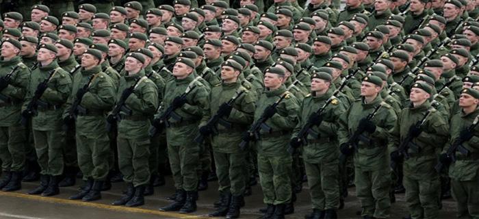 Действия ВС при введении военного положения