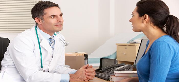 Разговор с врачом о причине проблемы