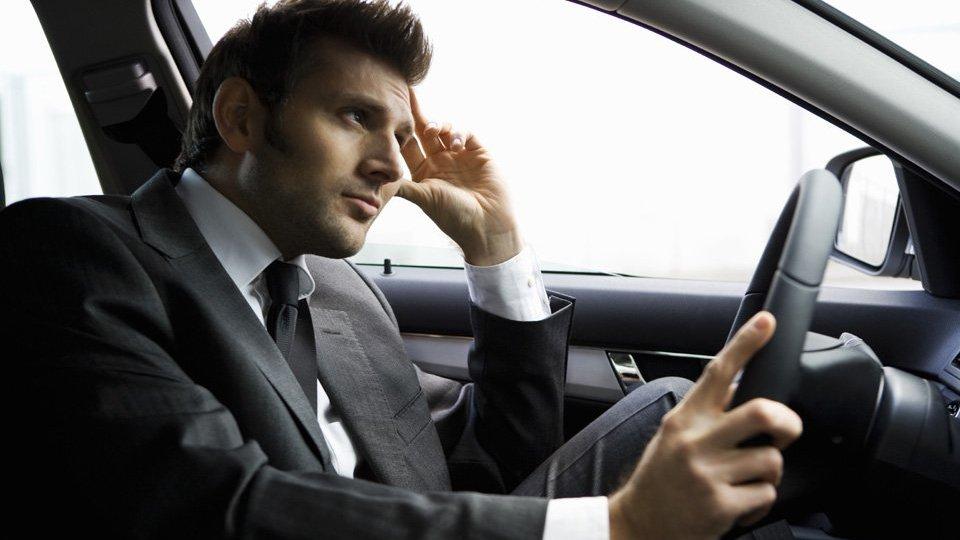 Вредные выхлопы при вождении автомобиля