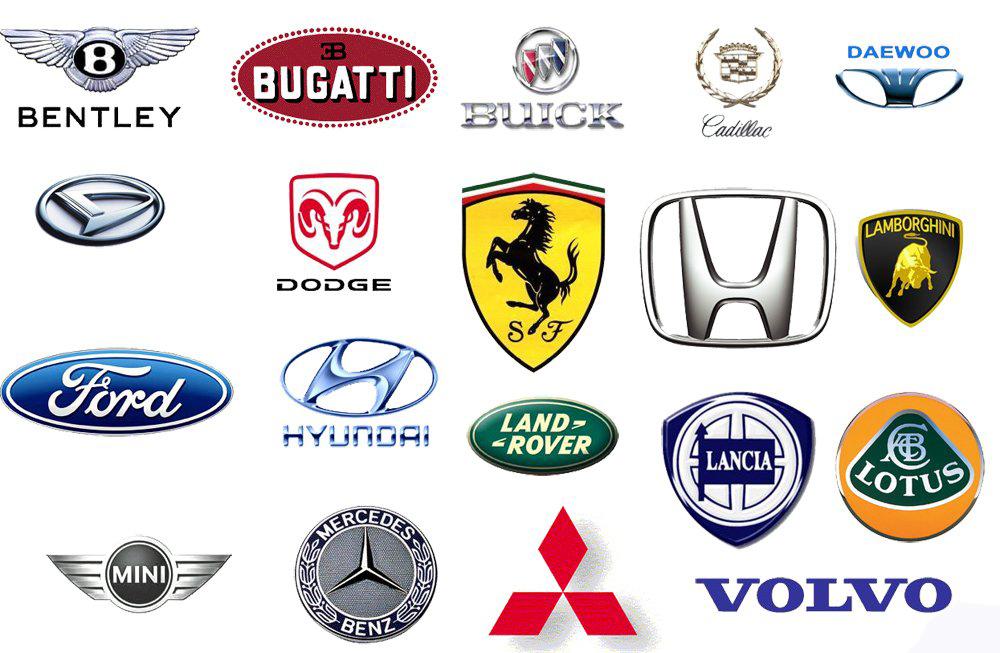Известные эмблемы автомобилей