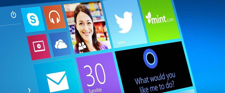 Изображение экрана Windows 10 (Виндовс 10)