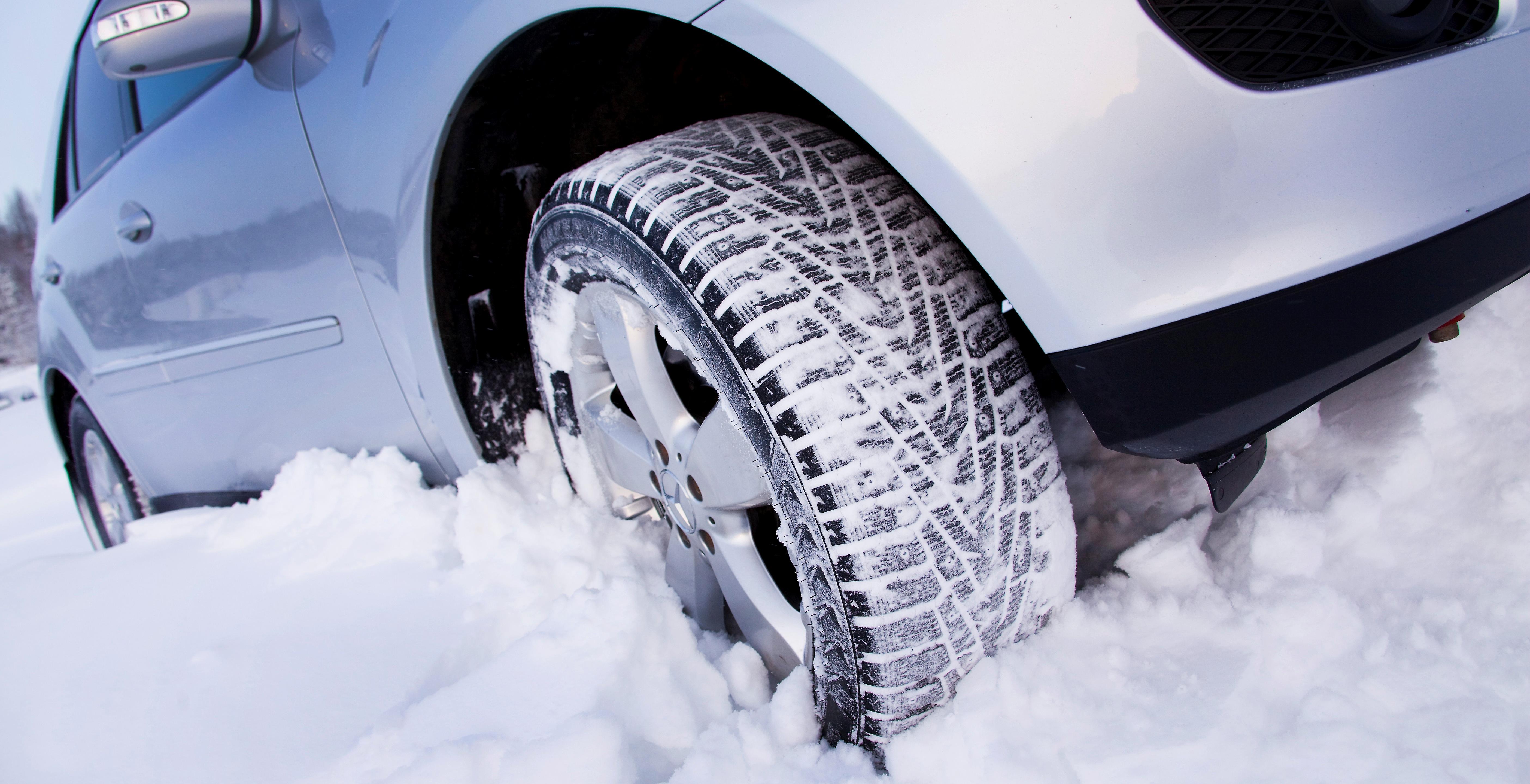 Использование зимних шин