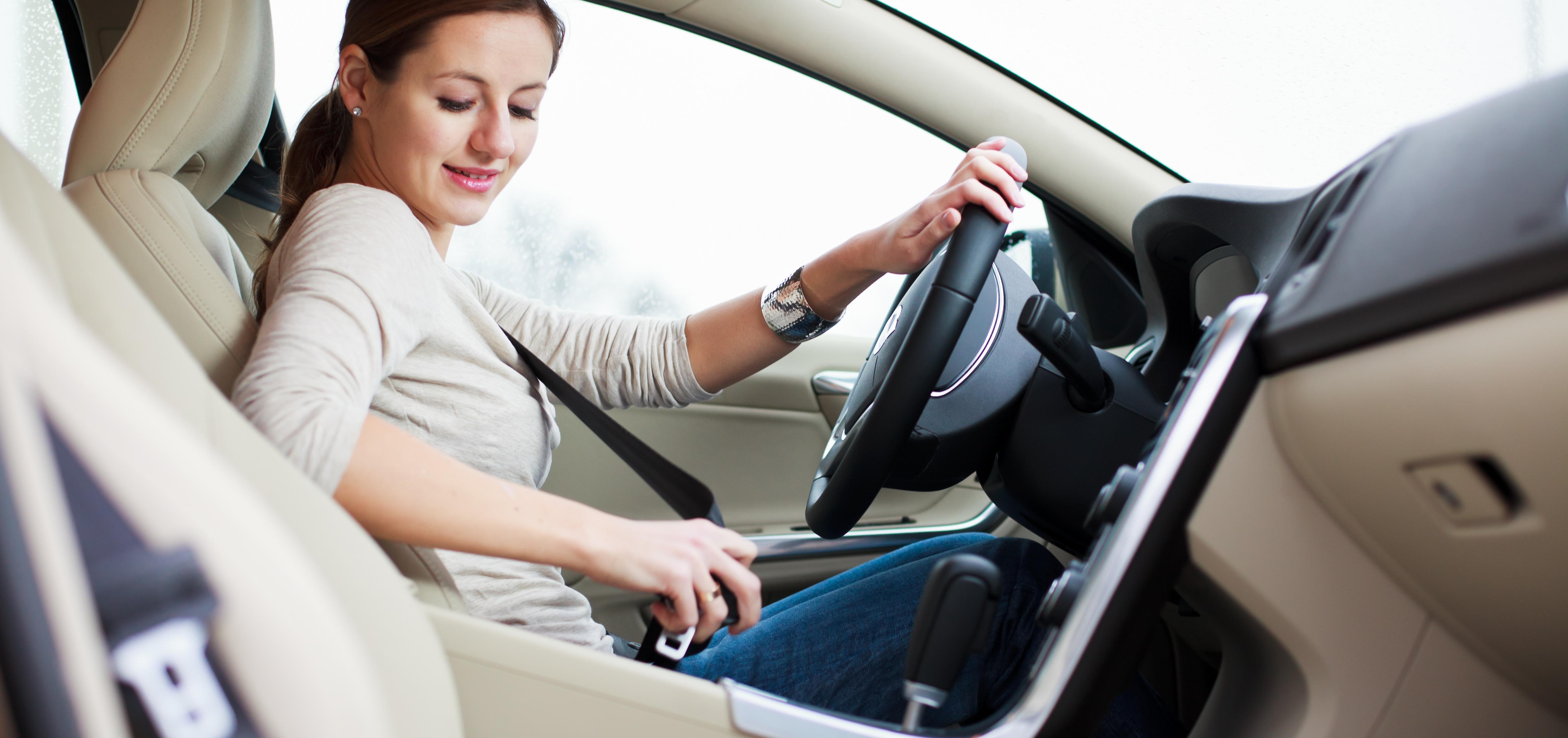 Проблемы женщин за рулем