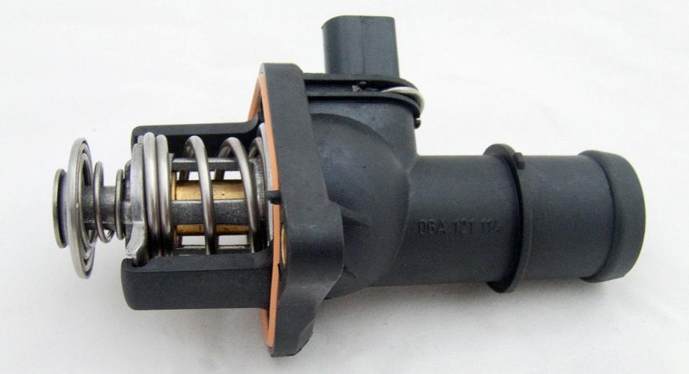 Строение автомобильного термостата