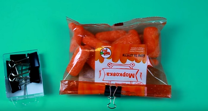 микс салат в упаковке