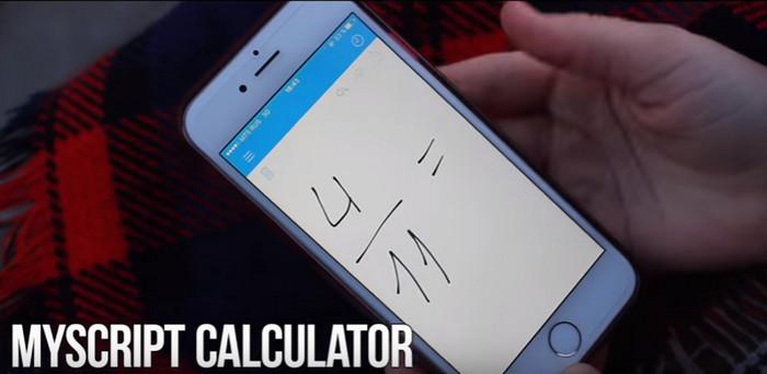 калькулятор на смартфоне