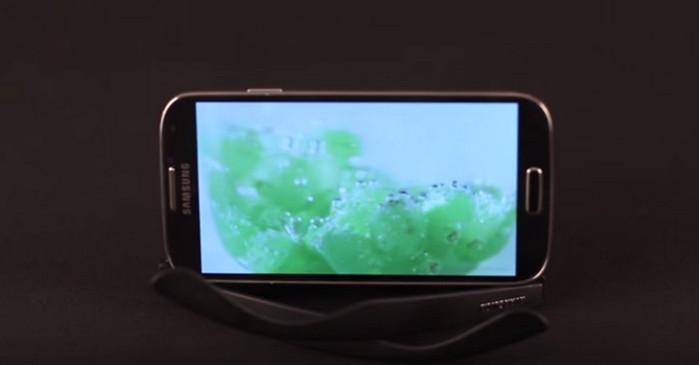 подставка для смартфона из очков