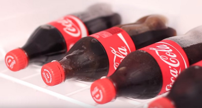 ледяная coca-cola