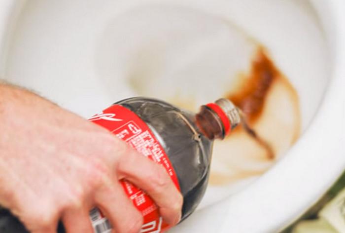 coca-cola для унитаза