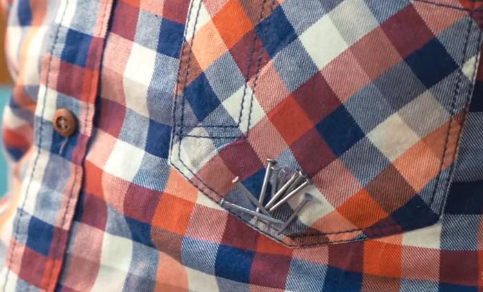 гвозди на одежде