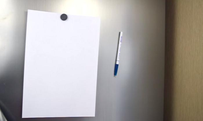 ручка на холодильнике