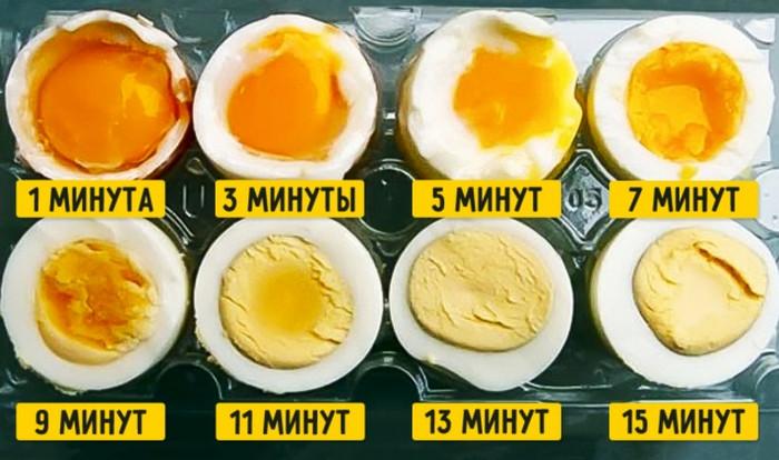 сколько времени варить яйца