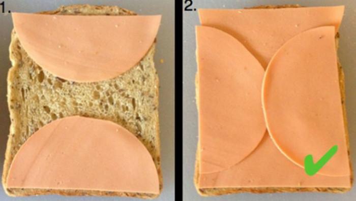 докторская колбаса на хлебе