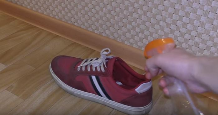обувь с неприятным запахом