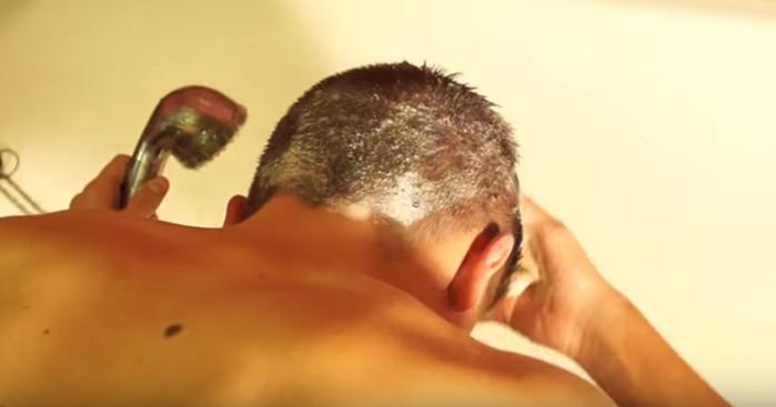 мытье головы хозяйственным мылом