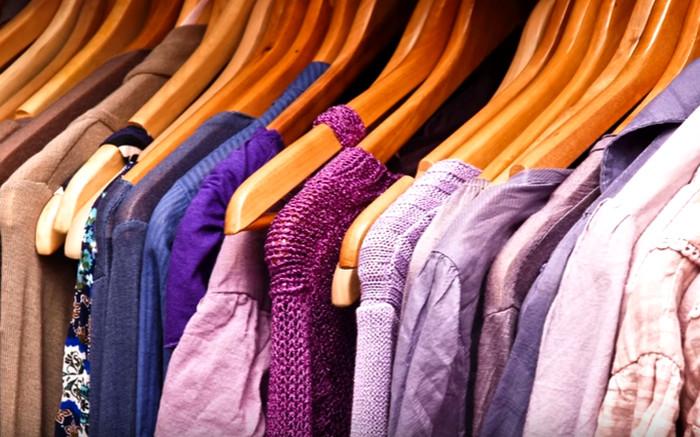 пятно пота на одежде
