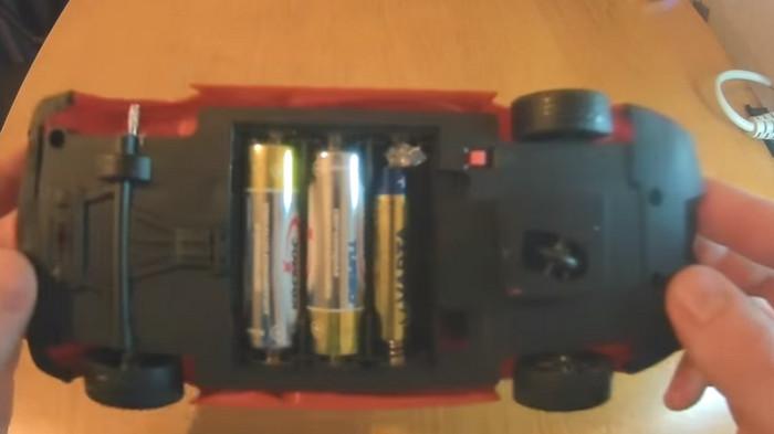 батарейка ААА вместо АА