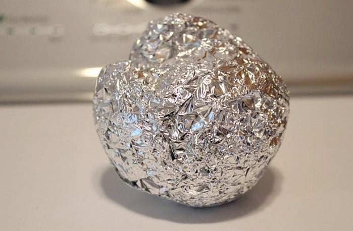 металлическая губка из фольги