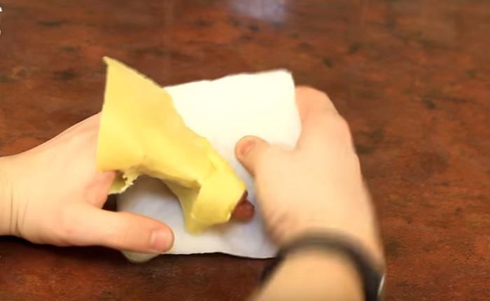 охлаждающий компресс из бумаги