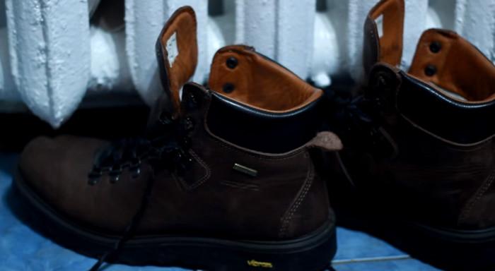 сода в обувь