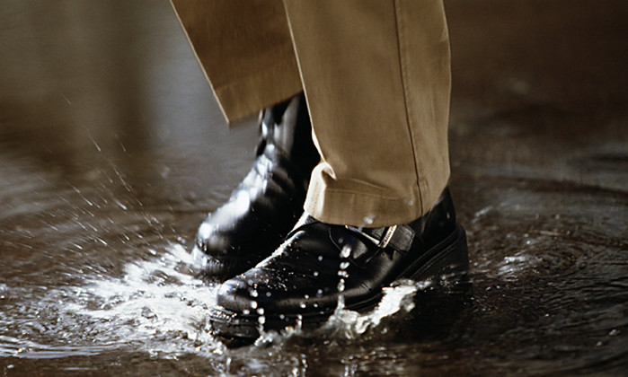 промокшие ноги