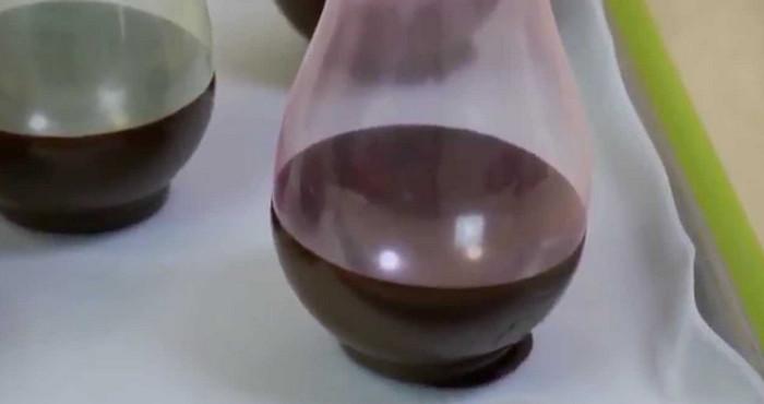 шоколадные тарелки