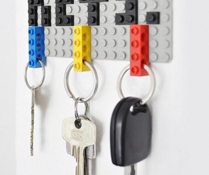 брелоки для ключей из кубиков лего